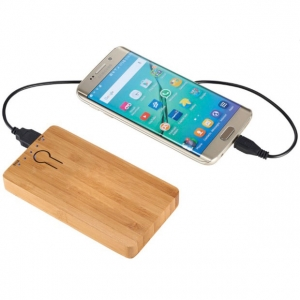 power bank legno