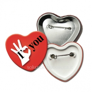 pins cuore